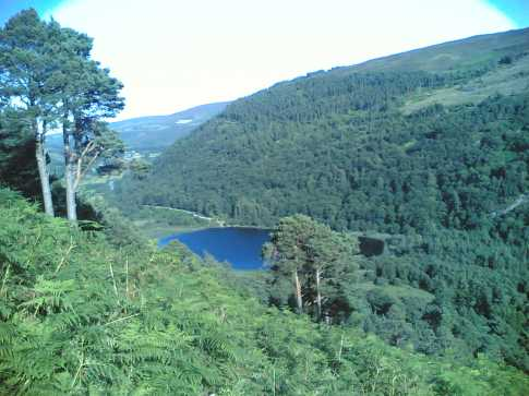 MountainViews.ie Picture about mountain Camaderry Mountain in area Dublin/Wicklow, Ireland