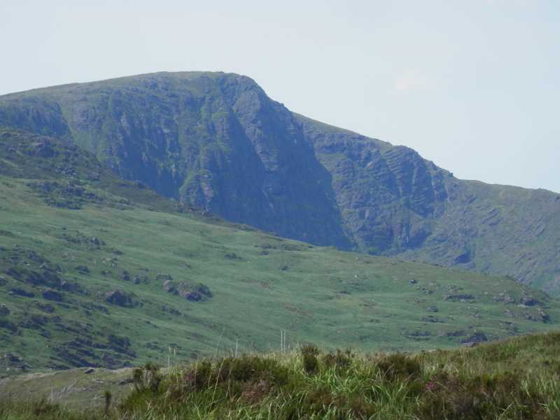 MountainViews.ie Picture about mountain Caoinkeen in area Shehy/Knockboy, Ireland