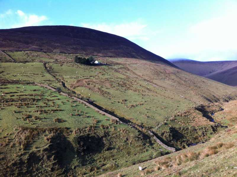 MountainViews.ie Picture about mountain Knockaterriff in area Galty Mountains, Ireland