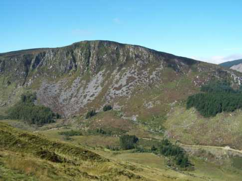 MountainViews.ie Picture about mountain Benleagh in area Wicklow, Ireland