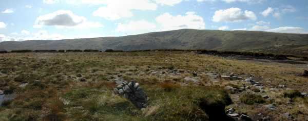 MountainViews.ie Picture about mountain Benleagh in area Dublin/Wicklow, Ireland