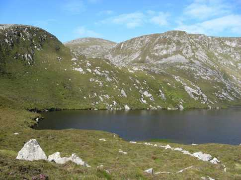 MountainViews.ie Picture about mountain Croaghaun (<i>Cruachán</i>) in area Achill & Corraun, Ireland