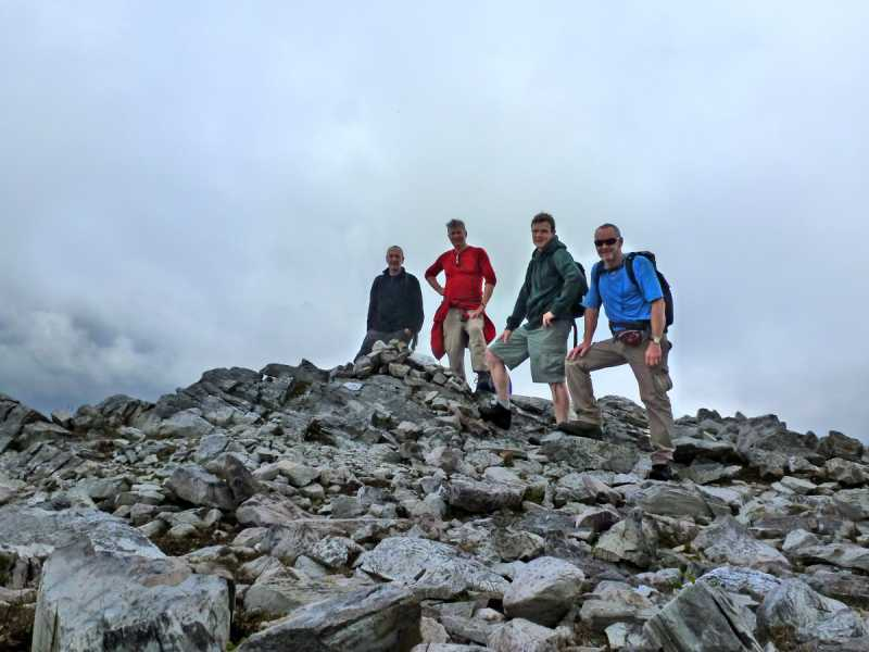 MountainViews.ie Picture about mountain Binn Bhraoin Central Top in area Twelve Bens, Ireland
