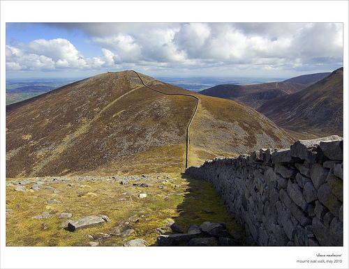 MountainViews.ie Picture about mountain Slieve Meelmore (<i>Sliabh Míol Mór</i>) in area Mourne Mountains, Ireland