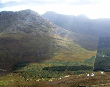 MountainViews.ie Picture about mountain Binn Bhraoin North Top in area Twelve Bens, Ireland
