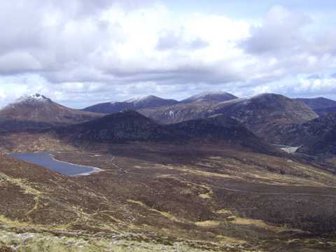 MountainViews.ie Picture about mountain Slieve Muck in area Mourne Mountains, Ireland