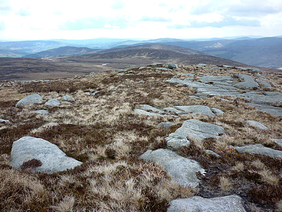 MountainViews.ie Picture about mountain Tonelagee NE Top in area Dublin/Wicklow, Ireland