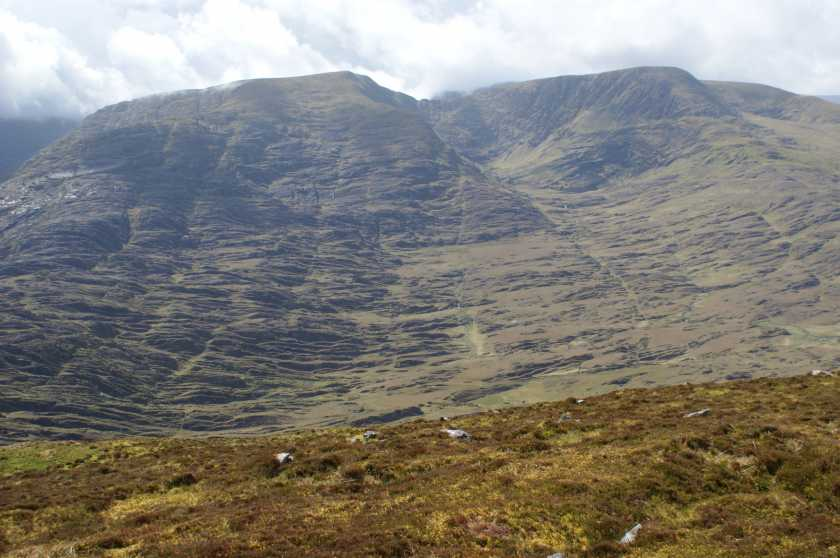 MountainViews.ie Picture about mountain Coomura Mountain in area Dunkerron Mountains, Ireland