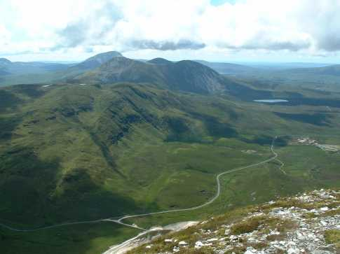 MountainViews.ie Picture about mountain Muckish in area Donegal NW, Ireland