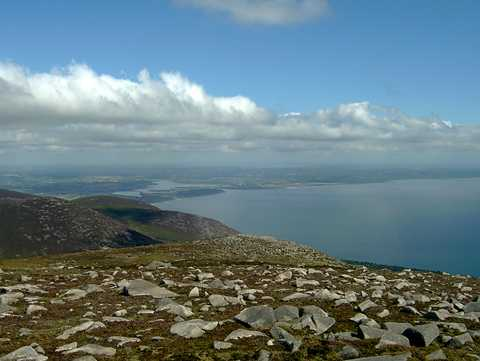MountainViews.ie Picture about mountain Chimney Rock Mountain in area Mourne Mountains, Ireland