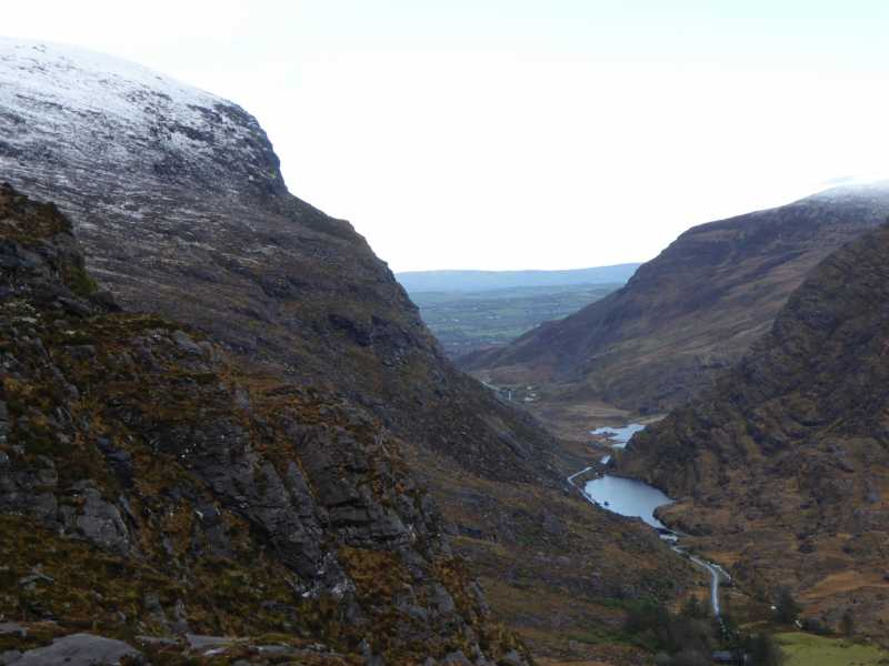 MountainViews.ie Picture about mountain Cnoc na dTarbh in area MacGillycuddy