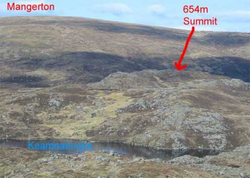 MountainViews.ie Picture about mountain Dromderalough NE Top in area Mangerton, Ireland