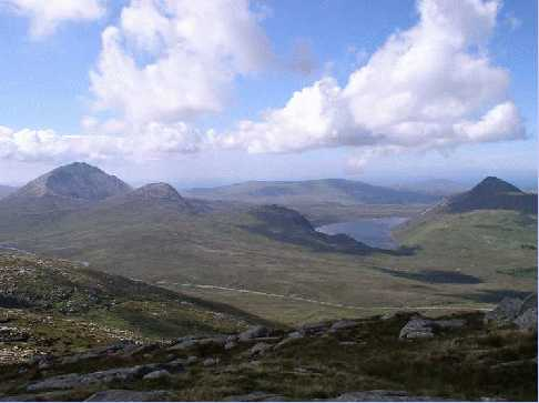 MountainViews.ie Picture about mountain Dooish in area Donegal NW, Ireland