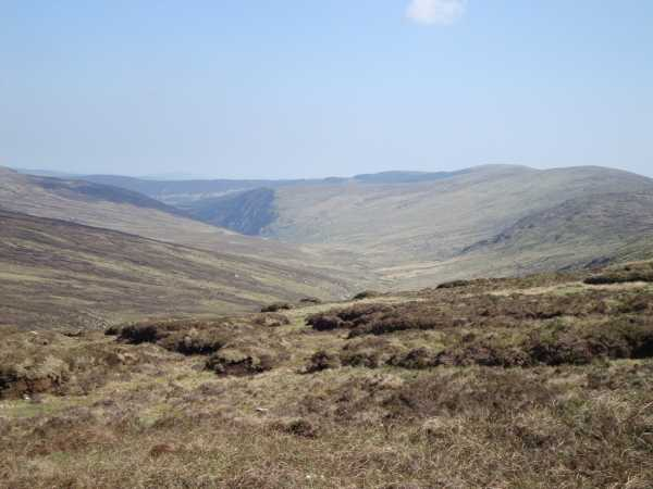 MountainViews.ie Picture about mountain Lugduff in area Dublin/Wicklow, Ireland