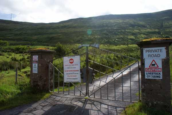 MountainViews.ie Picture about mountain Truskmore in area Dartry Mountains, Ireland