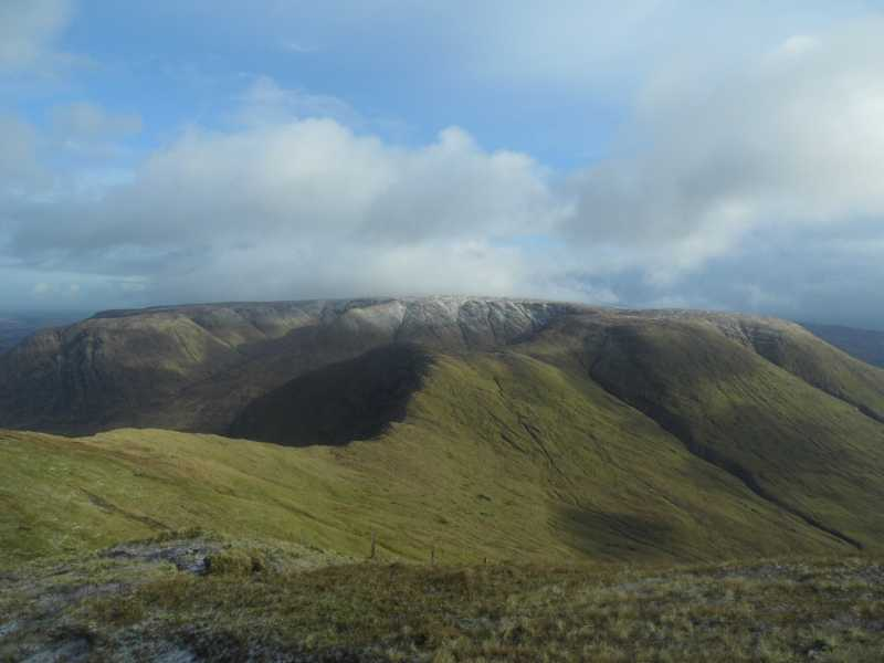 MountainViews.ie Picture about mountain Devilsmother in area Partry/Joyce Country, Ireland