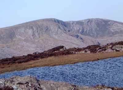 MountainViews.ie Picture about mountain Coomnadiha in area Caha Mountains, Ireland