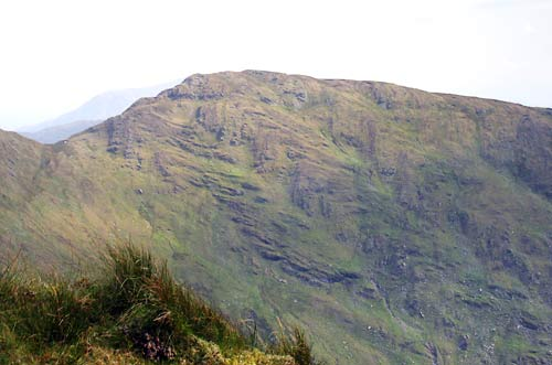 MountainViews.ie Picture about mountain Beann South Top (<i>An Bheann Bhán (mullach theas)</i>) in area Dunkerron Mountains, Ireland