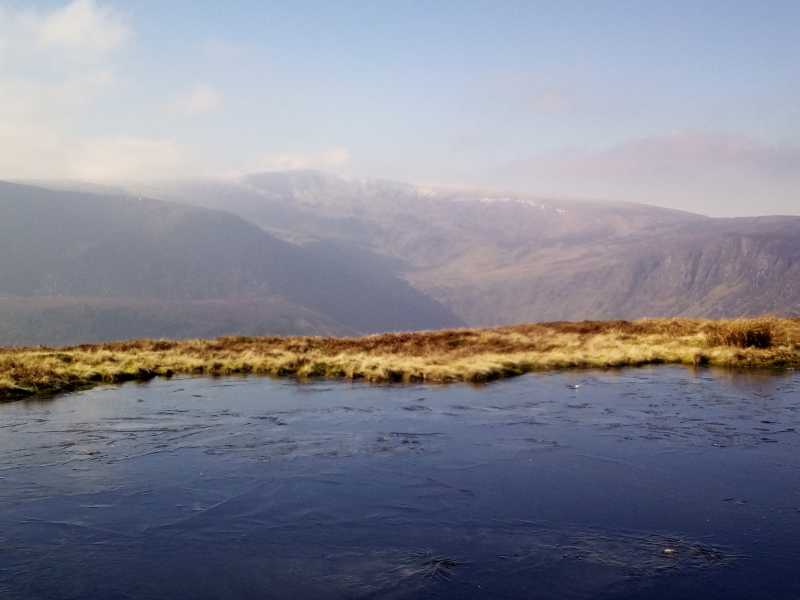 MountainViews.ie Picture about mountain Lugduff SE Top in area Dublin/Wicklow, Ireland