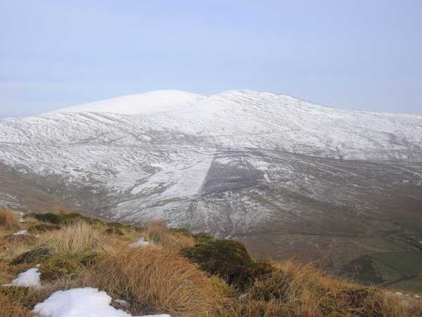 MountainViews.ie Picture about mountain Mullaghclogha in area Sperrin Mountains, Ireland
