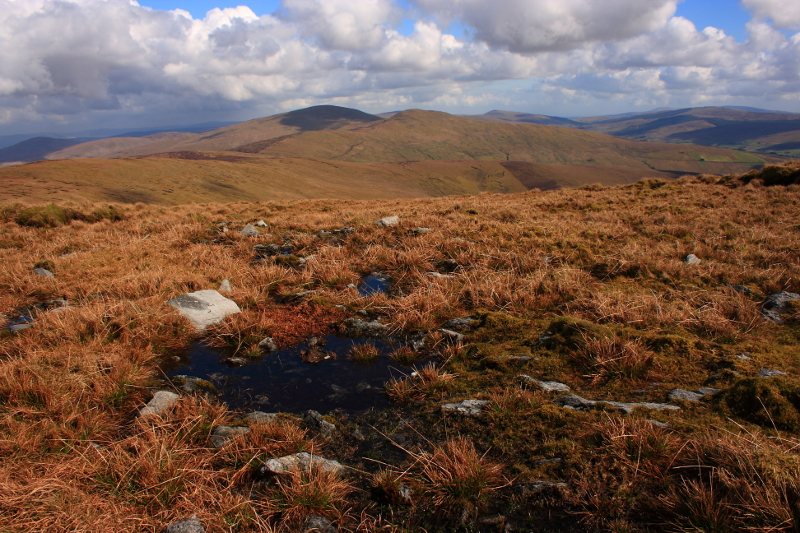 MountainViews.ie Picture about mountain Mullaghclogha (<i>Mullach Clocha</i>) in area Sperrin Mountains, Ireland