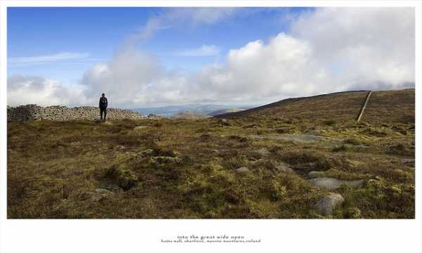 MountainViews.ie Picture about mountain Shanlieve in area Mourne Mountains, Ireland