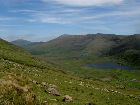 MountainViews.ie Picture about mountain Slievanea in area Central Dingle, Ireland