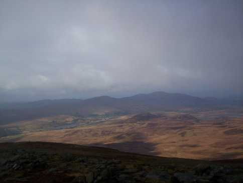 MountainViews.ie Picture about mountain Slieve Snaght in area Inishowen, Ireland