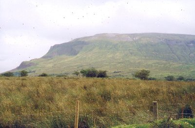 MountainViews.ie Picture about mountain Tievebaun in area Dartry Mountains, Ireland