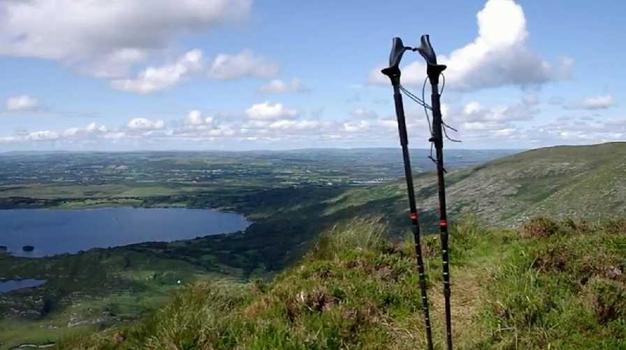 MountainViews.ie Picture about mountain Stoompa East Top in area Mangerton, Ireland