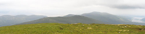 MountainViews.ie Picture about mountain Macklaun in area Glenbeigh Horseshoe, Ireland