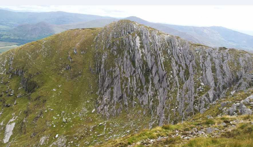 MountainViews.ie Picture about mountain Lackabane in area Caha Mountains, Ireland