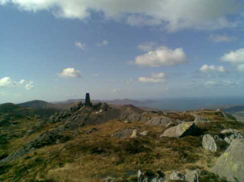 MountainViews.ie Picture about mountain Coomacloghane in area Caha Mountains, Ireland