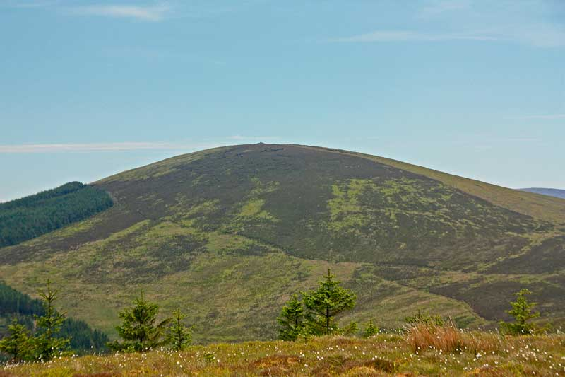 MountainViews.ie Picture about mountain Sorrel Hill in area Wicklow, Ireland