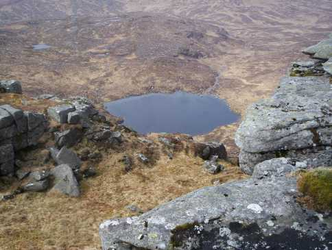 MountainViews.ie Picture about mountain Drumnalifferny Mountain in area Donegal NW, Ireland