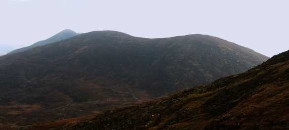 MountainViews.ie Picture about mountain Bascadh in area Dunkerron Mountains, Ireland