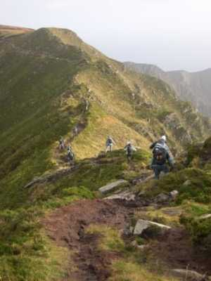 MountainViews.ie Picture about mountain Sliabh Liag in area Donegal SW, Ireland