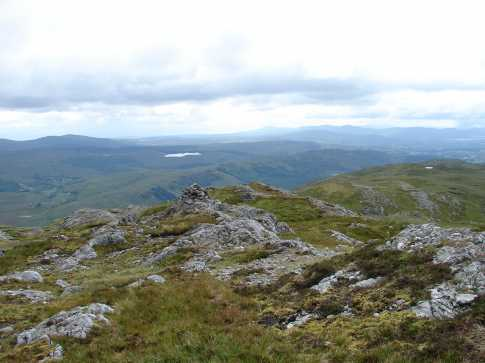 MountainViews.ie Picture about mountain Aghla Mountain in area Bluestack Mountains, Ireland