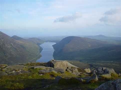 MountainViews.ie Picture about mountain Doan in area Mourne Mountains, Ireland