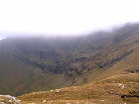 MountainViews.ie Picture about mountain Tievnabinnia East Top in area Sheeffry Hills, Ireland