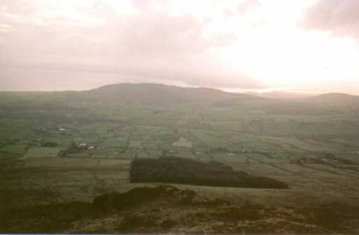 MountainViews.ie Picture about mountain Slieve Foye in area Cooley/Gullion, Ireland