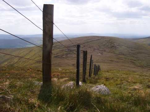 MountainViews.ie Picture about mountain Mullaghasturrakeen in area Sperrin Mountains, Ireland