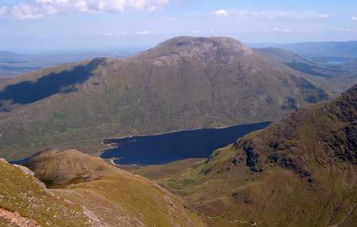 MountainViews.ie Picture about mountain Barrclashcame North-West Top in area Sheeffry Hills, Ireland