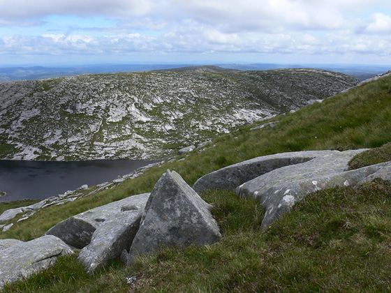 MountainViews.ie Picture about mountain Na Beanna Gorma in area Donegal NW, Ireland