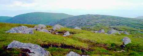 MountainViews.ie Picture about mountain Lackawee in area Caha Mountains, Ireland