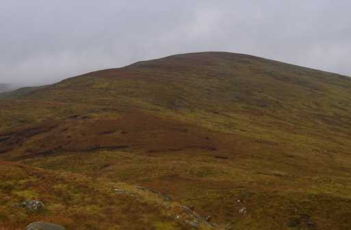 MountainViews.ie Picture about mountain Mullaghclogher (<i>Mullach Clochair</i>) in area Sperrin Mountains, Ireland