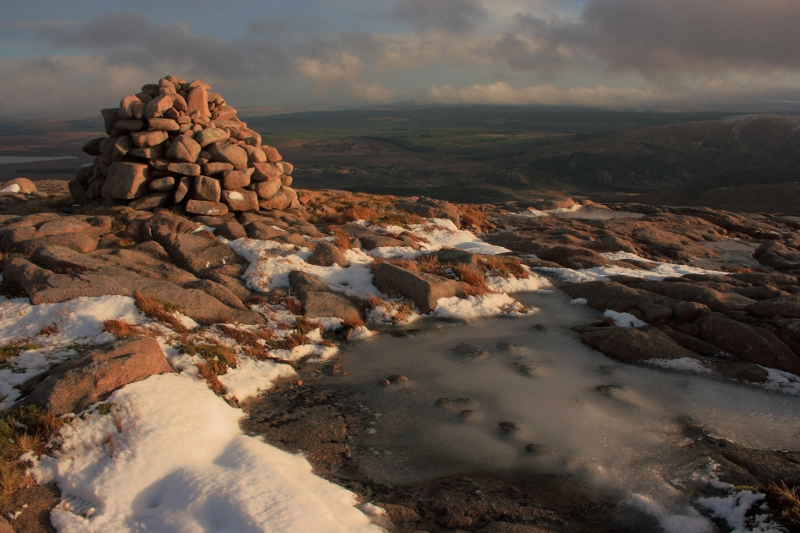 MountainViews.ie Picture about mountain Croaghnageer in area Bluestack Mountains, Ireland