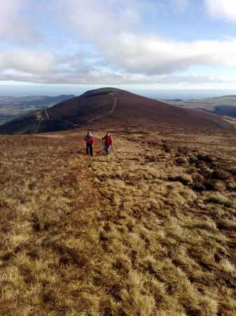 MountainViews.ie Picture about mountain Maulin in area Dublin/Wicklow, Ireland