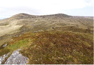 MountainViews.ie Picture about mountain Carran South Top in area Shehy/Knockboy, Ireland