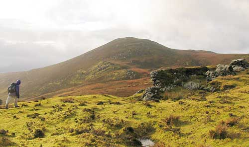 MountainViews.ie Picture about mountain Moanlaur (<i>Móin Láir</i>) in area Slieve Mish, Ireland
